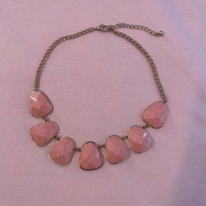 Le Chateau Pink Statement Necklace